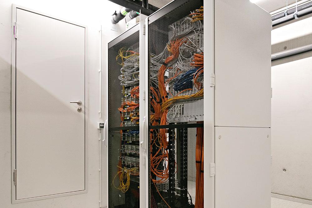 Serverschränke Etagen